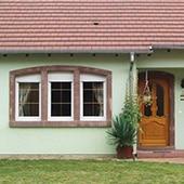 Encadrements de portes, de fenêtres et porches